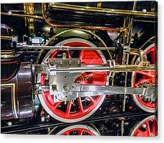 Train Wheels Acrylic Print