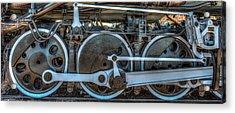 Train Wheels Acrylic Print by Paul Freidlund