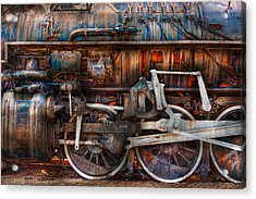 Train - With Age Comes Beauty  Acrylic Print by Mike Savad
