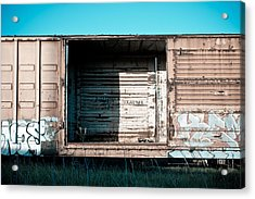 Trains 15 Acrylic Print by Niels Nielsen
