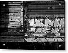Trains 17 Acrylic Print by Niels Nielsen