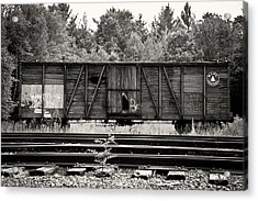 Trains Acrylic Print by David Fox Photographer