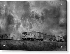 Trainscape Acrylic Print