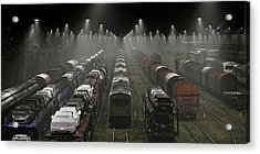 Trainsets Acrylic Print