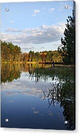 Tranquil Autumn Landscape Acrylic Print by Christina Rollo