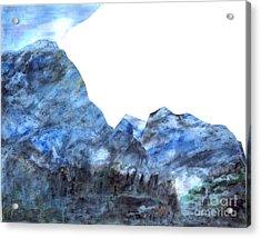 Tranquil Blue Acrylic Print