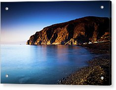 Tranquil Coastline Acrylic Print by Wladimir Bulgar