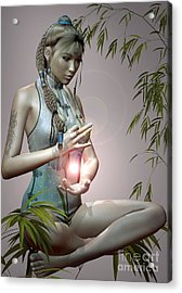 Tranquil Emotions Acrylic Print by Shadowlea Is