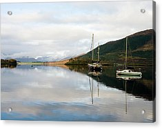 Tranquil Scottish Scene Acrylic Print by Jacqi Elmslie