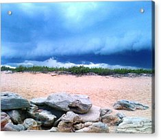 Tranquil Storm Acrylic Print by Julie Wilcox
