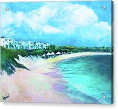 Tranquility Anguilla Acrylic Print