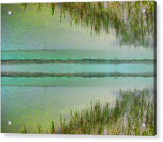 Tranquility Bay Acrylic Print by Wendy J St Christopher