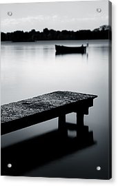Tranquility Acrylic Print by Dave Bowman