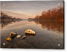 Tranquility Acrylic Print by Davorin Mance