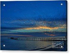 Sky Paint Acrylic Print