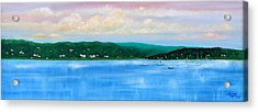 Tranquility On The Navesink River Acrylic Print