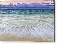 Tranquility Acrylic Print by Hawaii  Fine Art Photography