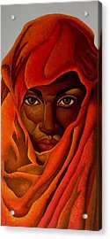 Transcendental Nubian Acrylic Print by William Roby
