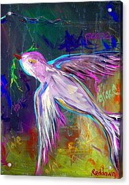 Transcending Acrylic Print by Dawn Gray Moraga