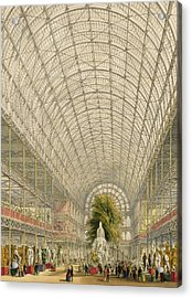 Transept Of The Crystal Palace Acrylic Print by George Hawkins