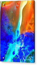 Acrylic Print featuring the painting Transfer by Christine Ricker Brandt