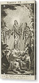 Transfiguration Of Christ On Mount Tabor Acrylic Print