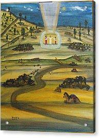 Transfiguration Of Jesus Acrylic Print