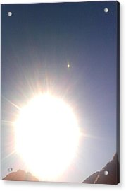 Acrylic Print featuring the photograph Transit Of Venus 2012 by Rc Rcd