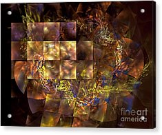 Translucence Acrylic Print by Olga Hamilton