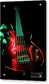 Transparent Bass Acrylic Print by Rob Hawkins