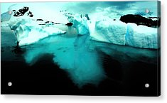 Acrylic Print featuring the photograph Transparent Iceberg by Amanda Stadther