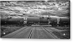 Transport Acrylic Print by Ricky L Jones