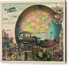 Transportation From 1910 Acrylic Print