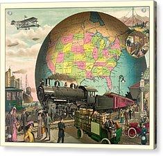 Transportation Acrylic Print by Gary Grayson