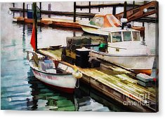 Trap Hauling Acrylic Print by Darren Fisher