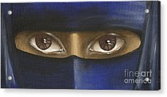 Acrylic Print featuring the painting Trapped by Annemeet Hasidi- van der Leij