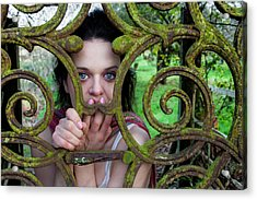 Trapped Acrylic Print by Semmick Photo