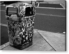 Trashcan Art Acrylic Print