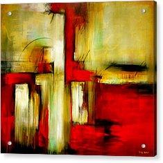 Traspasando Acrylic Print by Thelma Zambrano
