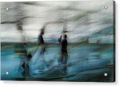 Acrylic Print featuring the photograph Travel Blues by Alex Lapidus