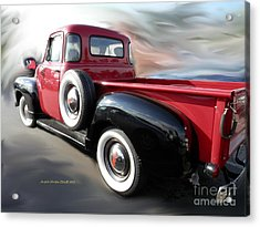 Traveling Back In Time Acrylic Print by Angelia Hodges Clay