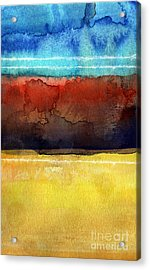 Traveling North Acrylic Print by Linda Woods