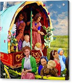 Travellers Acrylic Print