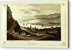 Travels In Norway, Sweden, Denmark, Christiania Acrylic Print by Litz Collection