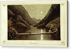 Travels In Norway, Sweden, Denmark, Swinsund Acrylic Print by Litz Collection