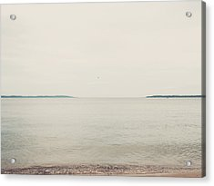 Traverse Bay Acrylic Print by Elle Moss