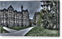 Traverse City State Mental Hospital Acrylic Print by Twenty Two North Photography
