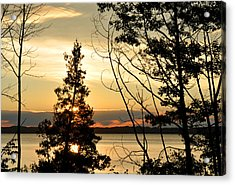 Traverse City Sunrise Acrylic Print