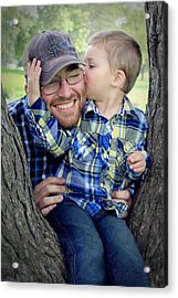 Travis And Tucker Acrylic Print by Michele Richter