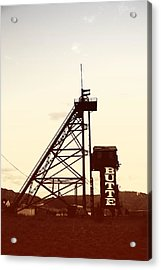Acrylic Print featuring the photograph Travona Photochrom by Kevin Bone